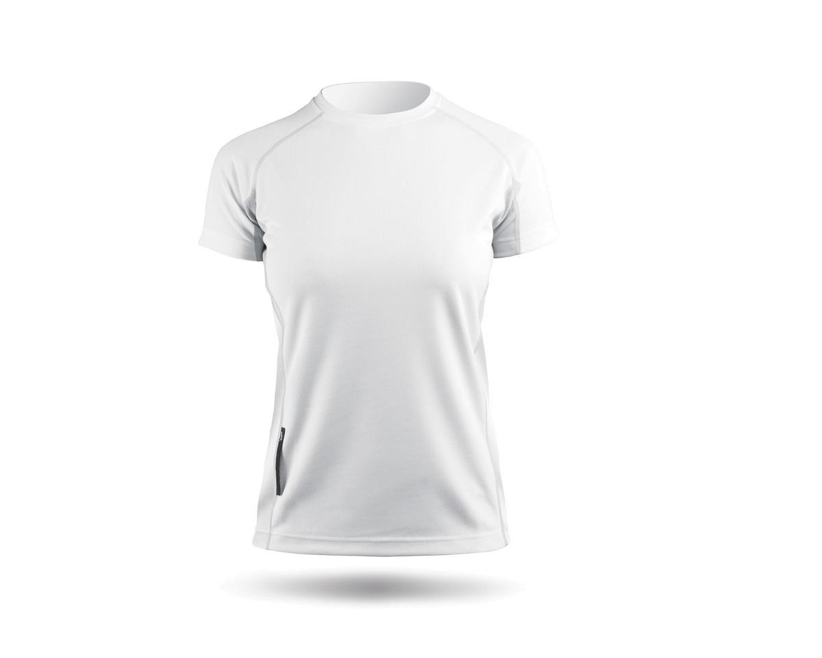 Zhik ZhikDry Short Sleeve Shirt (White) (Women)