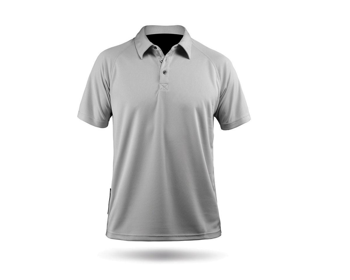 Zhik ZhikDry Short Sleeve Polo Shirt (Grey)