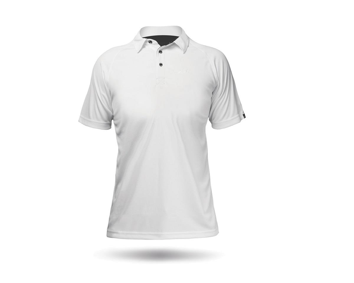 Zhik ZhikDry Short Sleeve Polo Shirt (White) (Women)