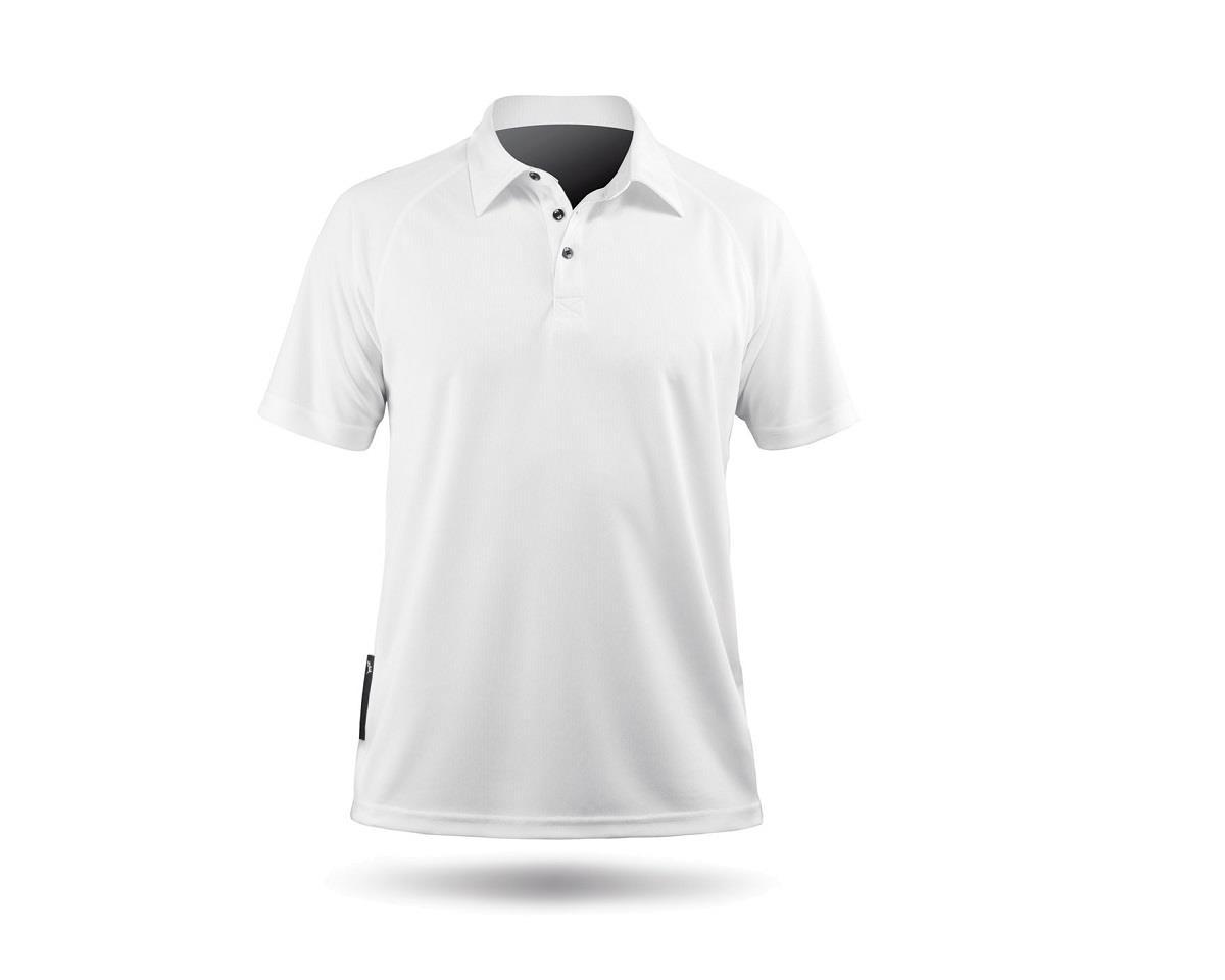 Zhik ZhikDry Short Sleeve Polo Shirt (White)