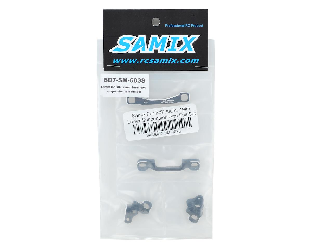 Samix BD7/BD8/BD9 Aluminum Suspension Mount Set (1mm Lower)