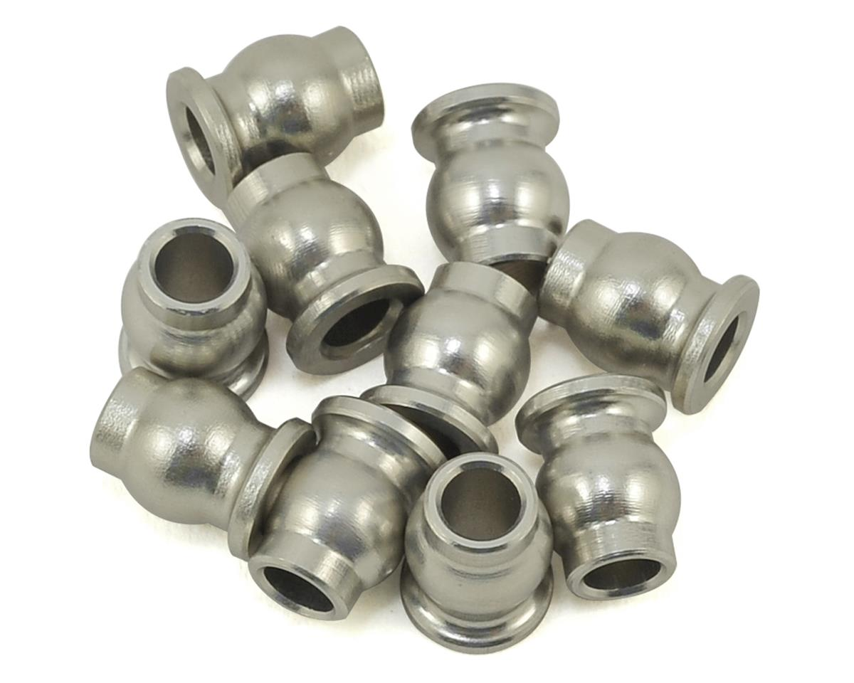 Samix Aluminum 5.8mm Flanged Pivot Ball (10)