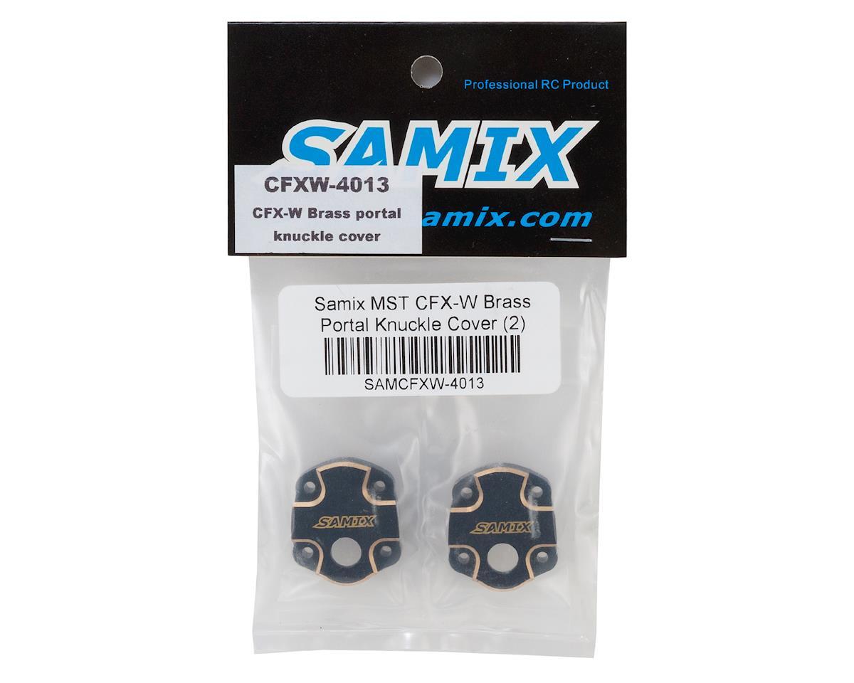 Samix MST CFX-W Brass Portal Knuckle Cover (2)