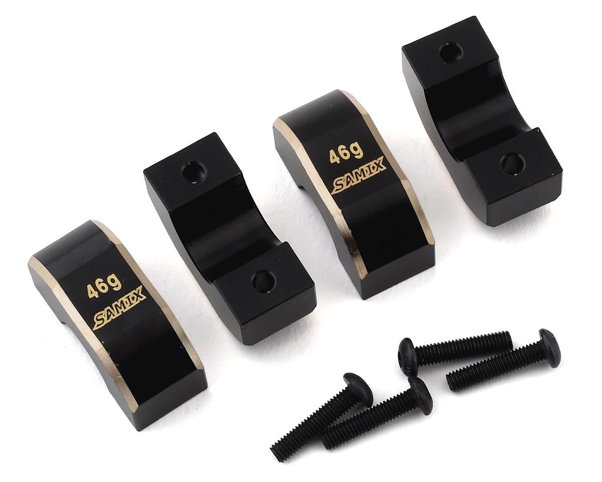 Samix Element RC Enduro Brass Rear Weight Set