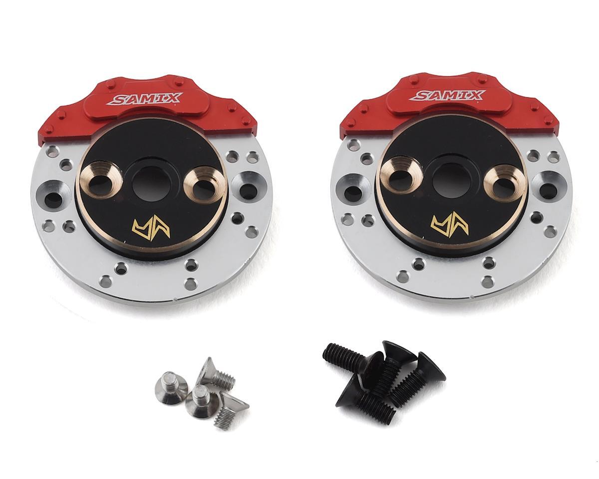 Samix Element RC Enduro Brass Rear Brake Adapter Set w/Scale Rotor & Caliper