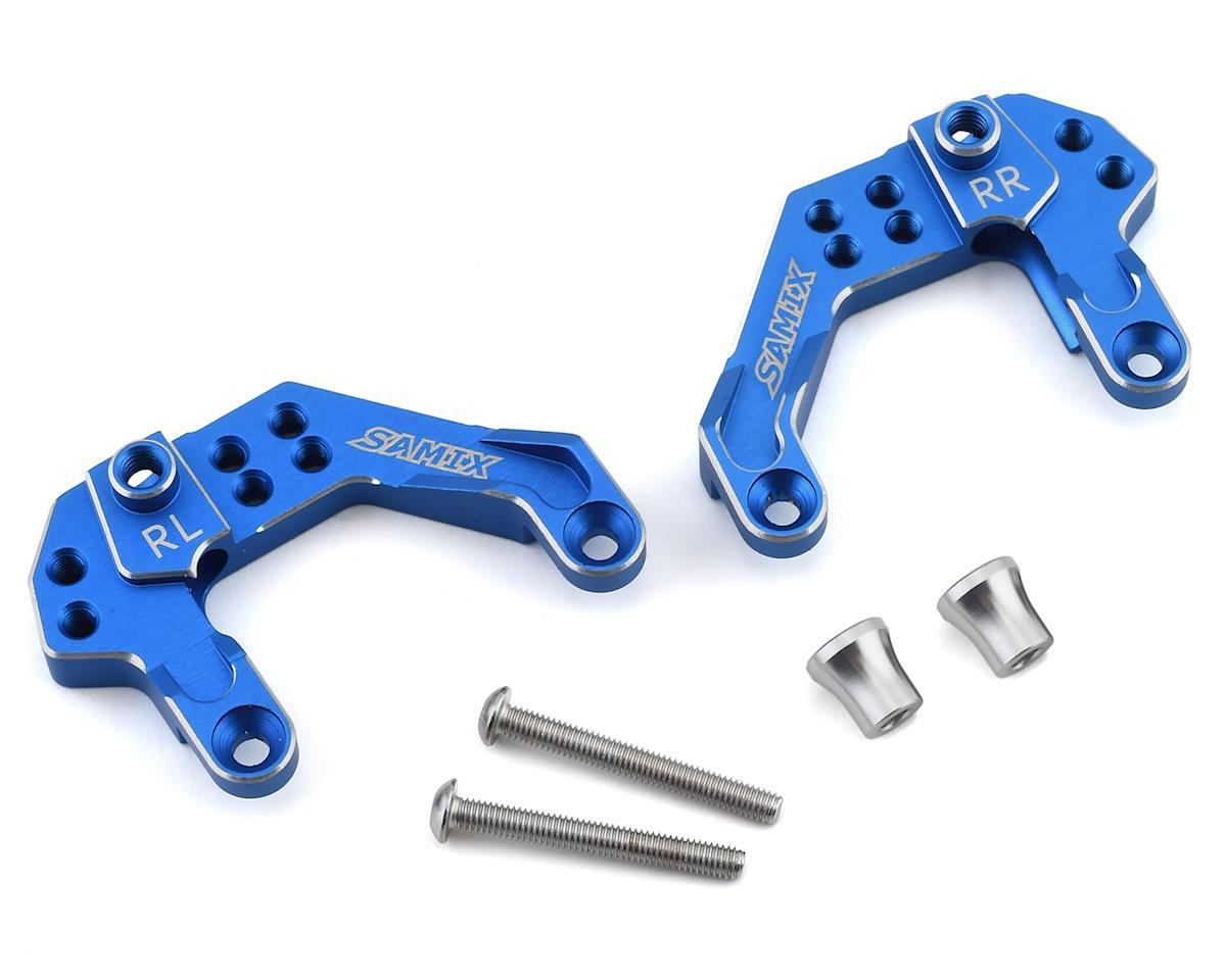 Samix Element Enduro Rear Shock Plate (Blue)