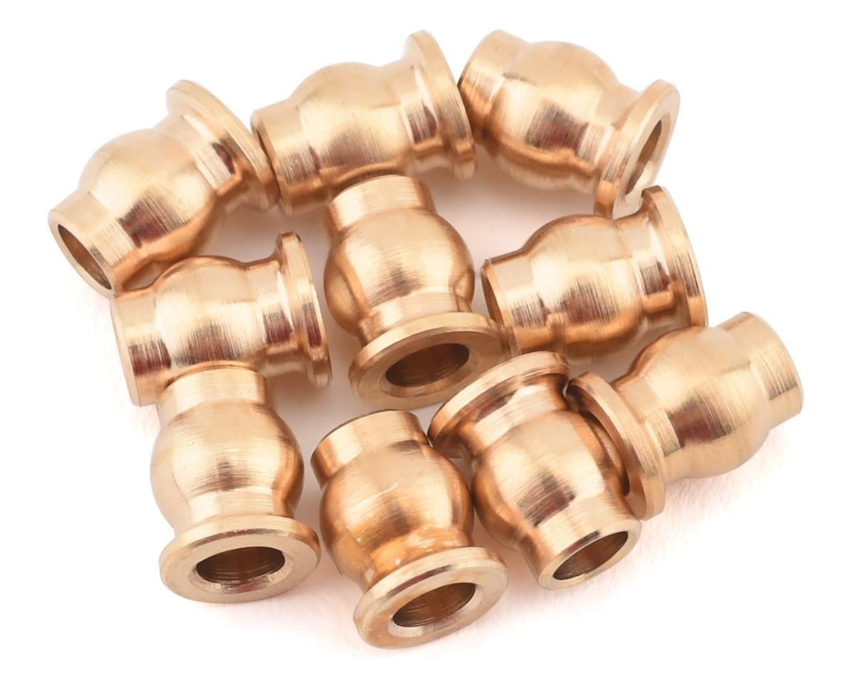 Samix Element Enduro Brass 5.8mm Flanged Pivot Ball (10)