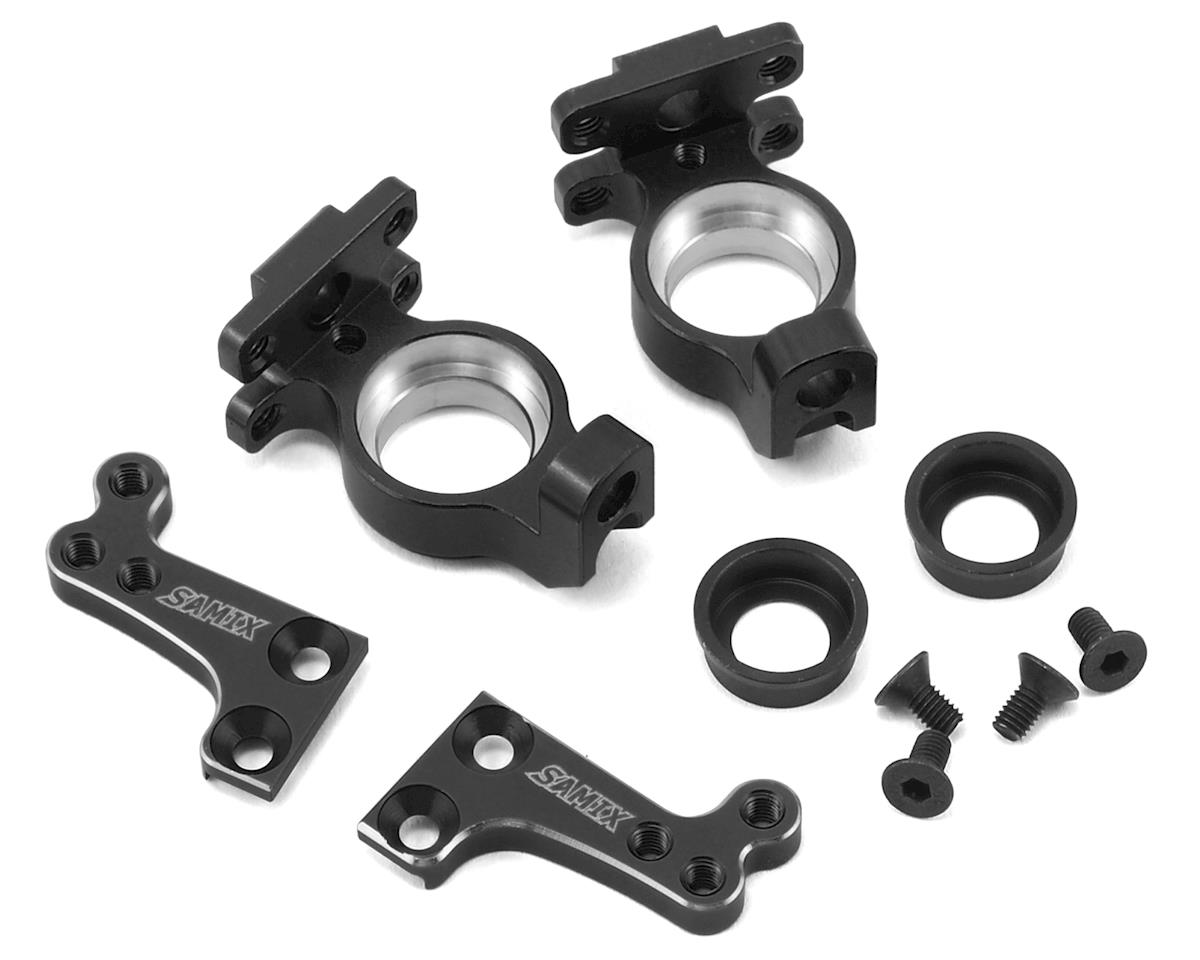Samix SCX10 High Clearance Steering Knuckle Arm (Black)