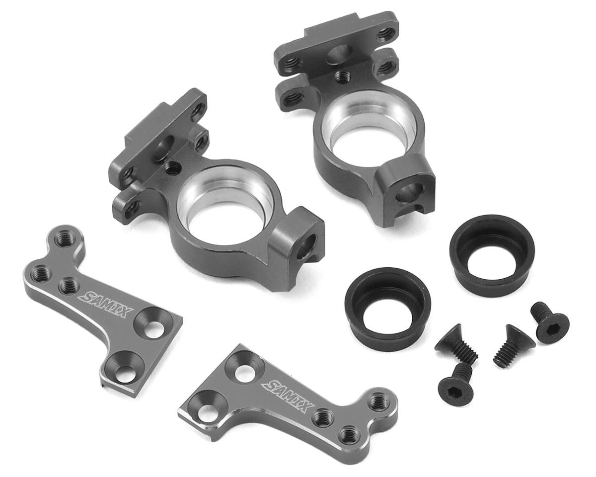 Samix SCX10 High Clearance Steering Knuckle Arm (Grey)