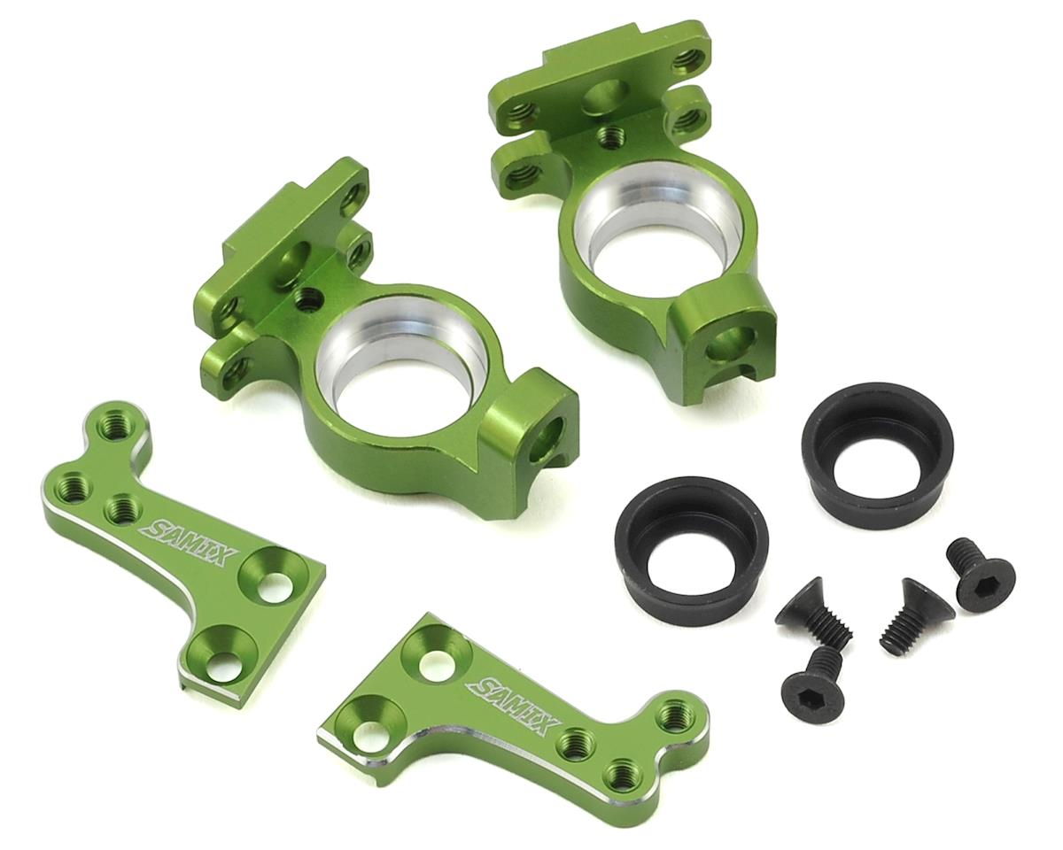 SCX10 High Clearance Steering Knuckle Arm (Green) by Samix