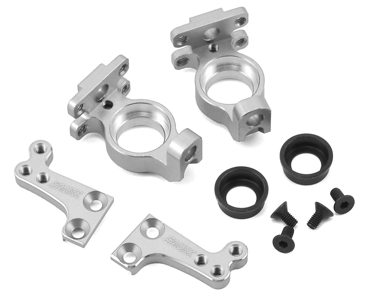Samix SCX10 High Clearance Steering Knuckle Arm (Silver)