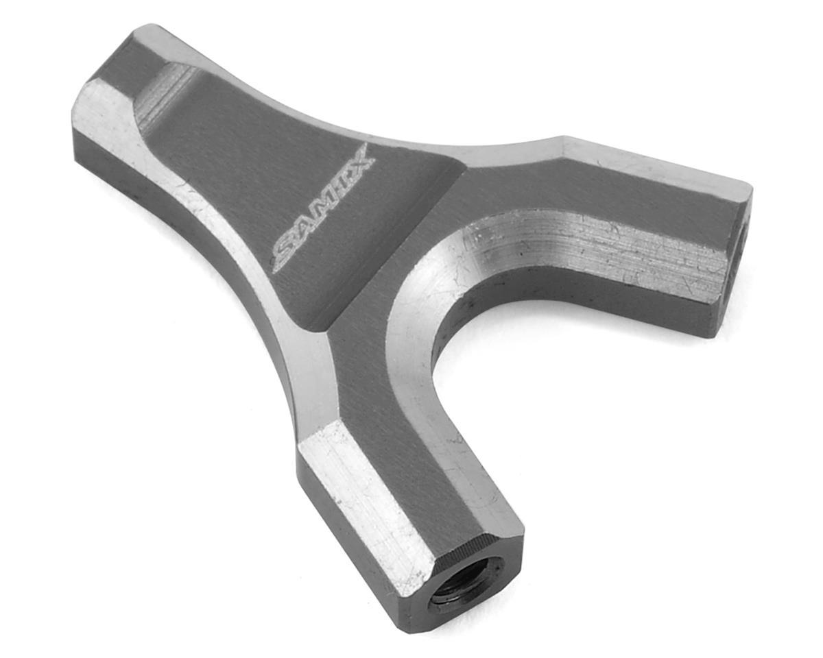 Samix SCX10 Y-Link Mount (Grey)