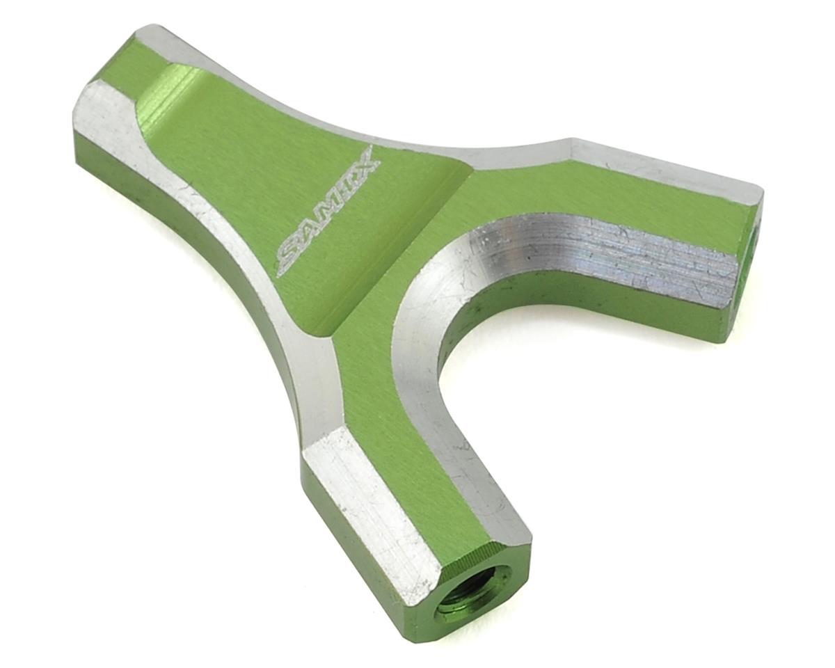 Samix SCX10 Y-Link Mount (Green)