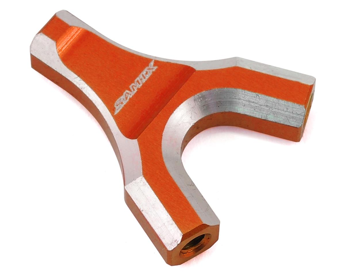 Samix SCX10 Y-Link Mount (Orange)