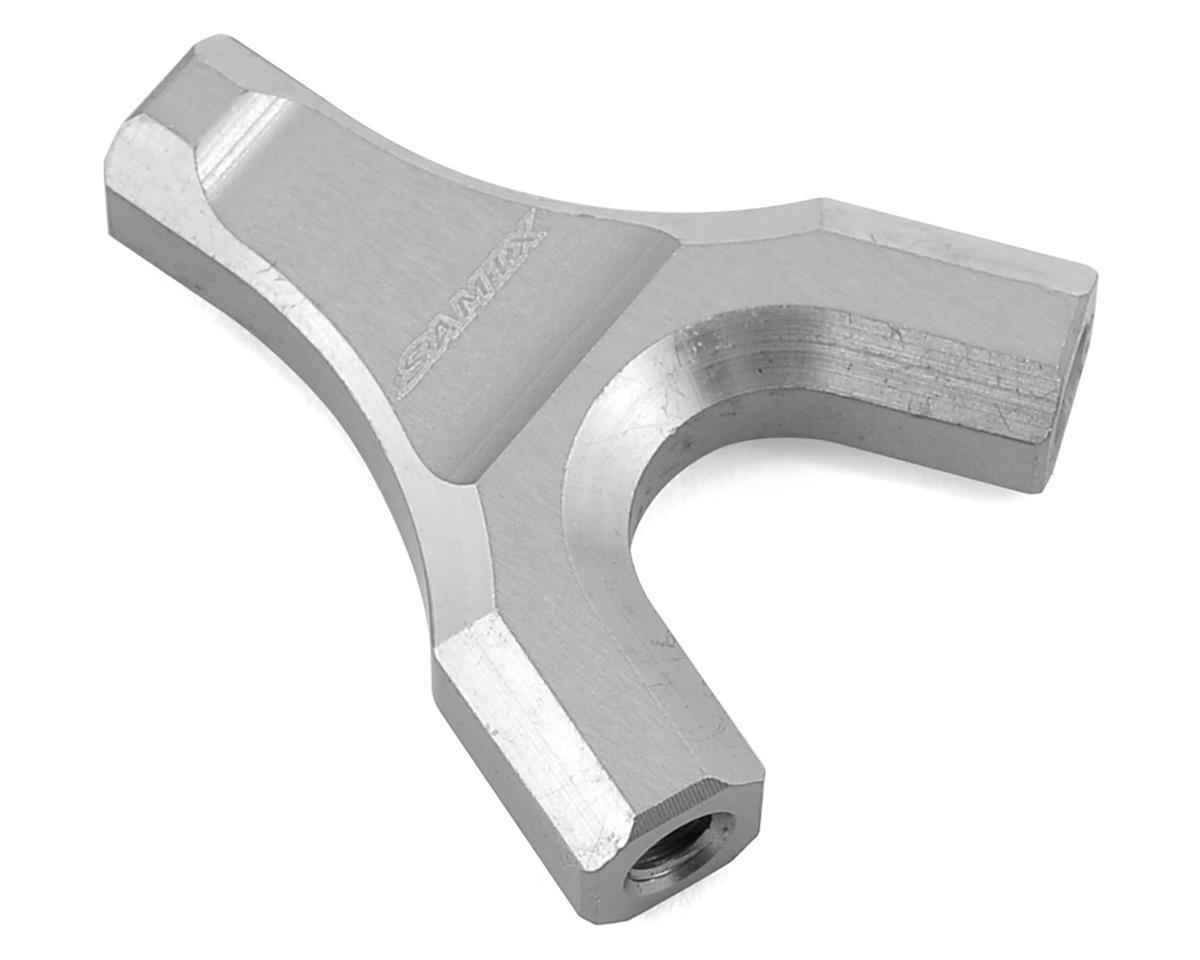 Samix SCX10 Y-Link Mount (Silver)