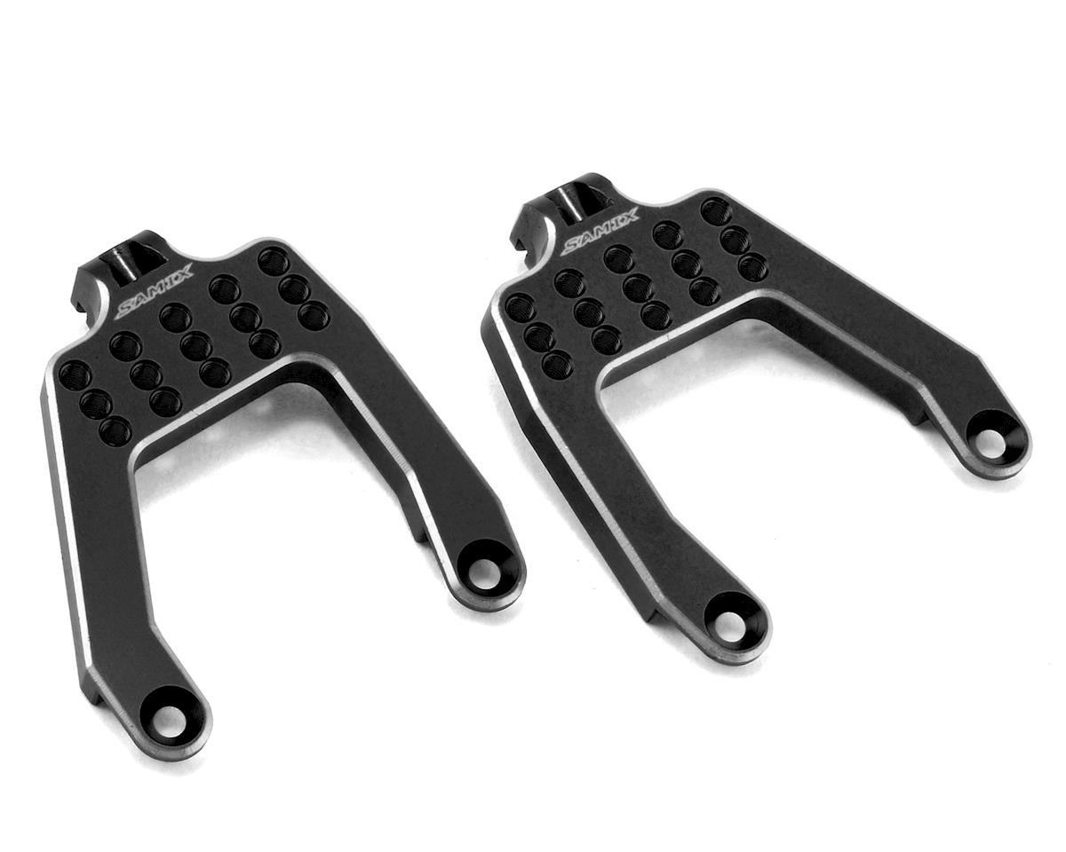 Samix SCX10 Front Shock Plate (Black)