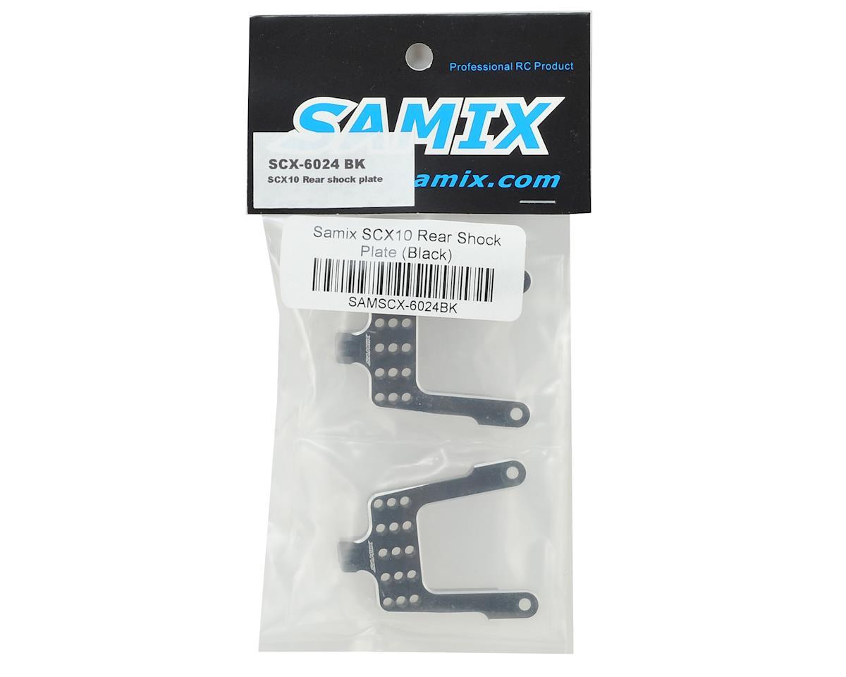 Samix SCX10 Rear Shock Plate (Black)