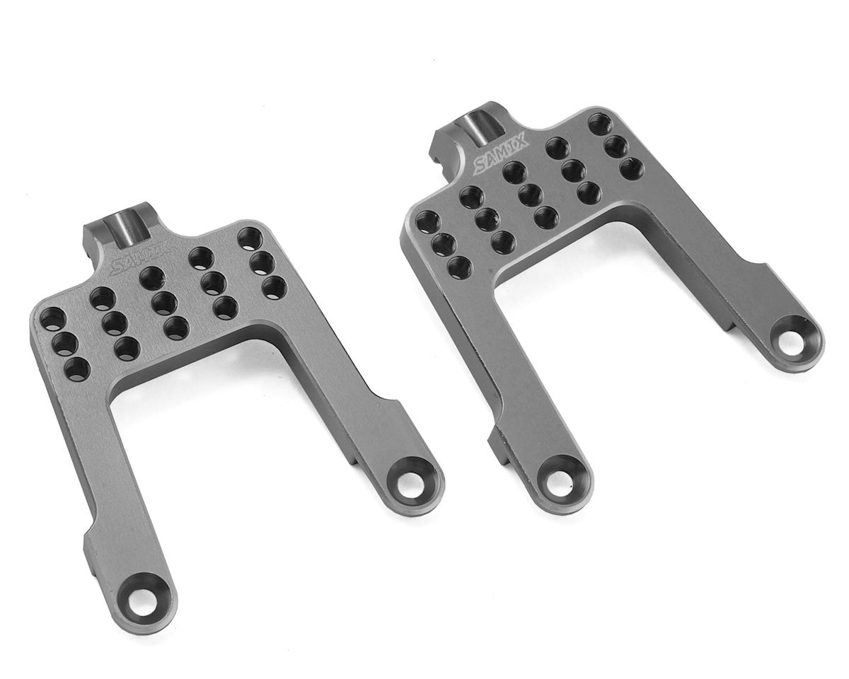 Samix SCX10 Rear Shock Plate (Grey)