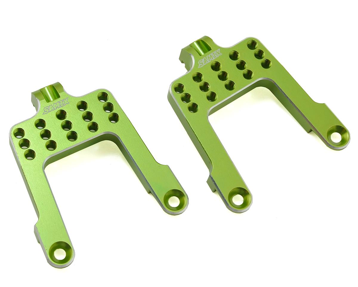 Samix SCX10 Rear Shock Plate (Green)
