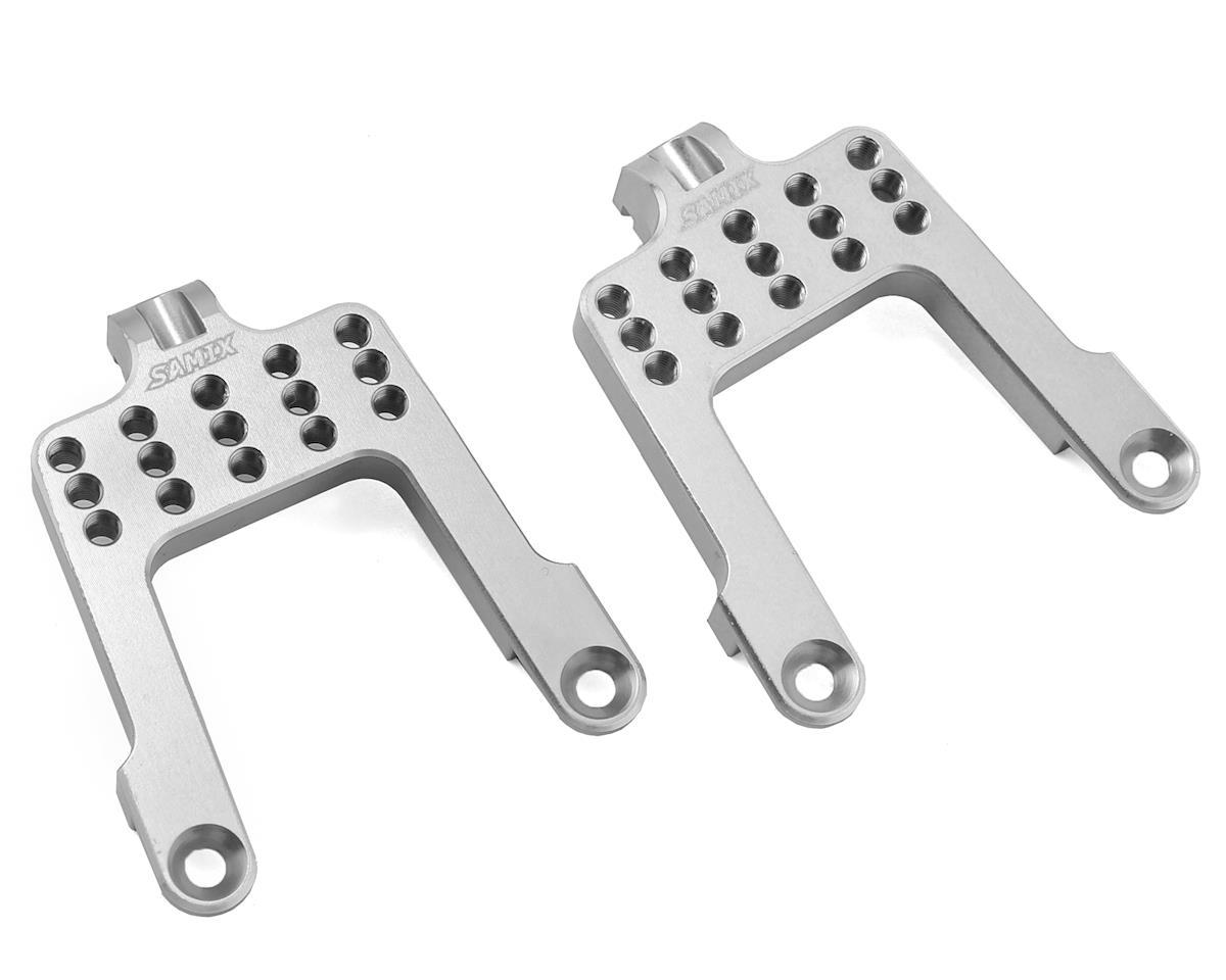 Samix SCX10 Rear Shock Plate (Silver)