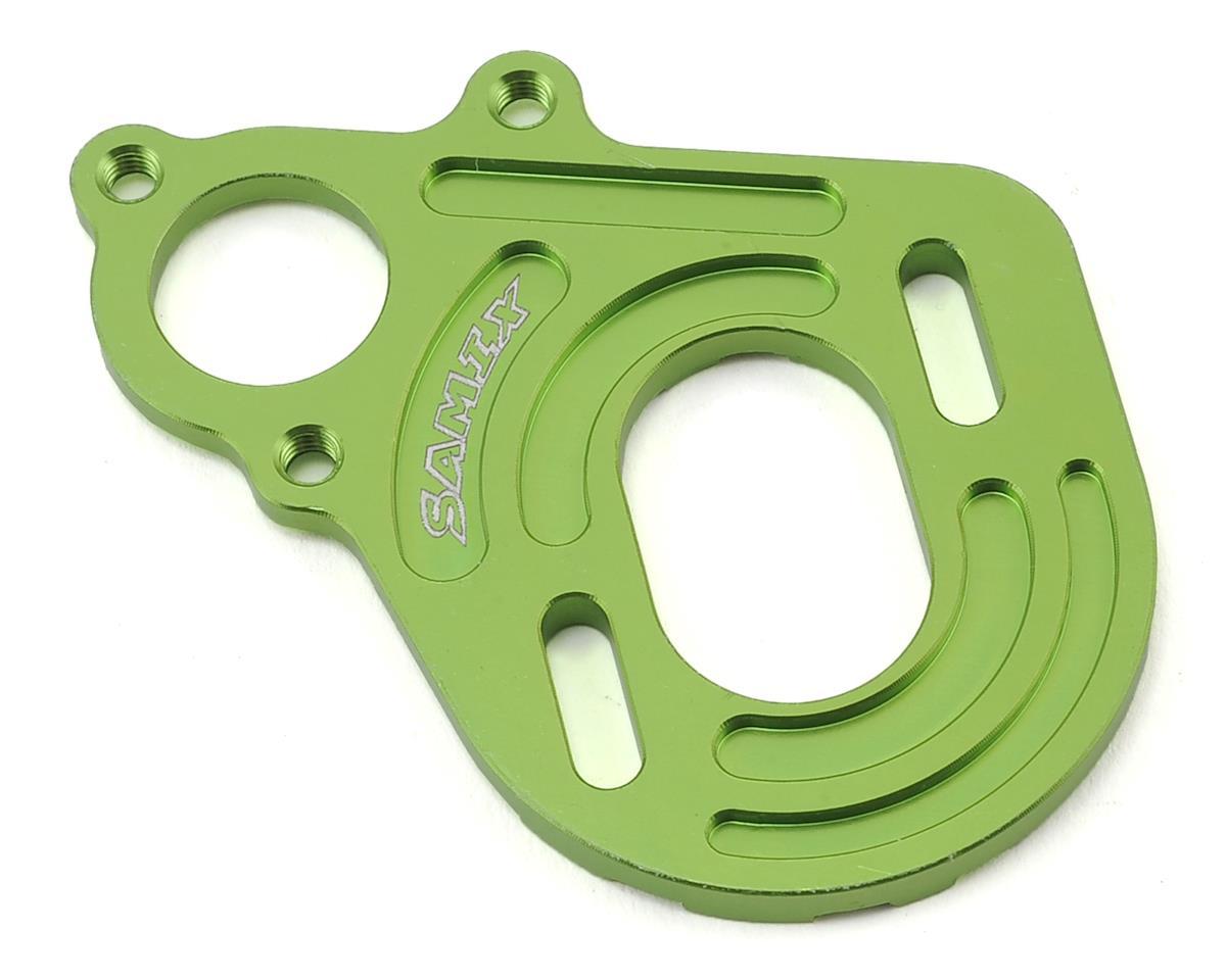 Samix SCX10 Motor Plate (Green)