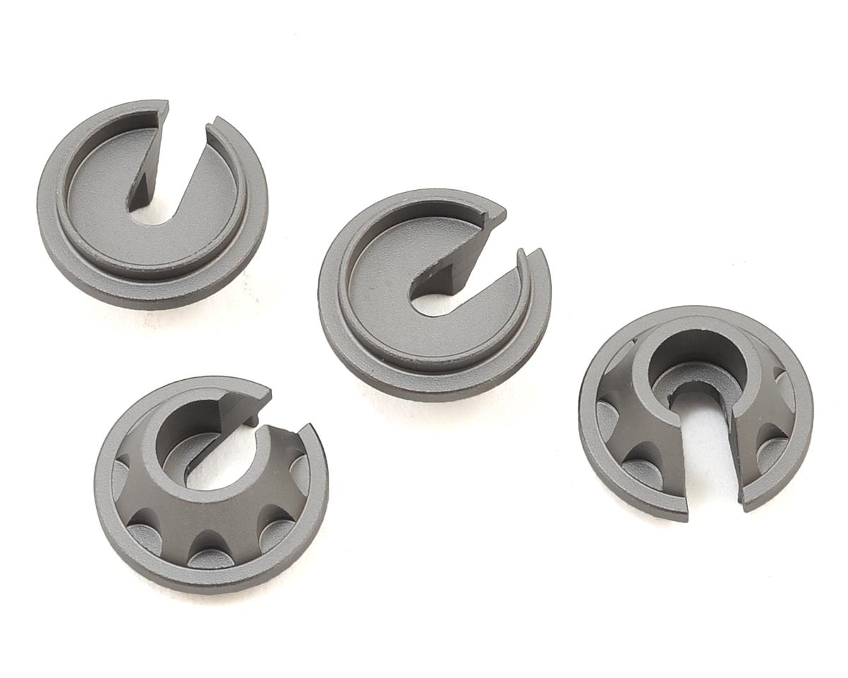 Samix SCX10 II Aluminum Spring Cup (Grey) (4)