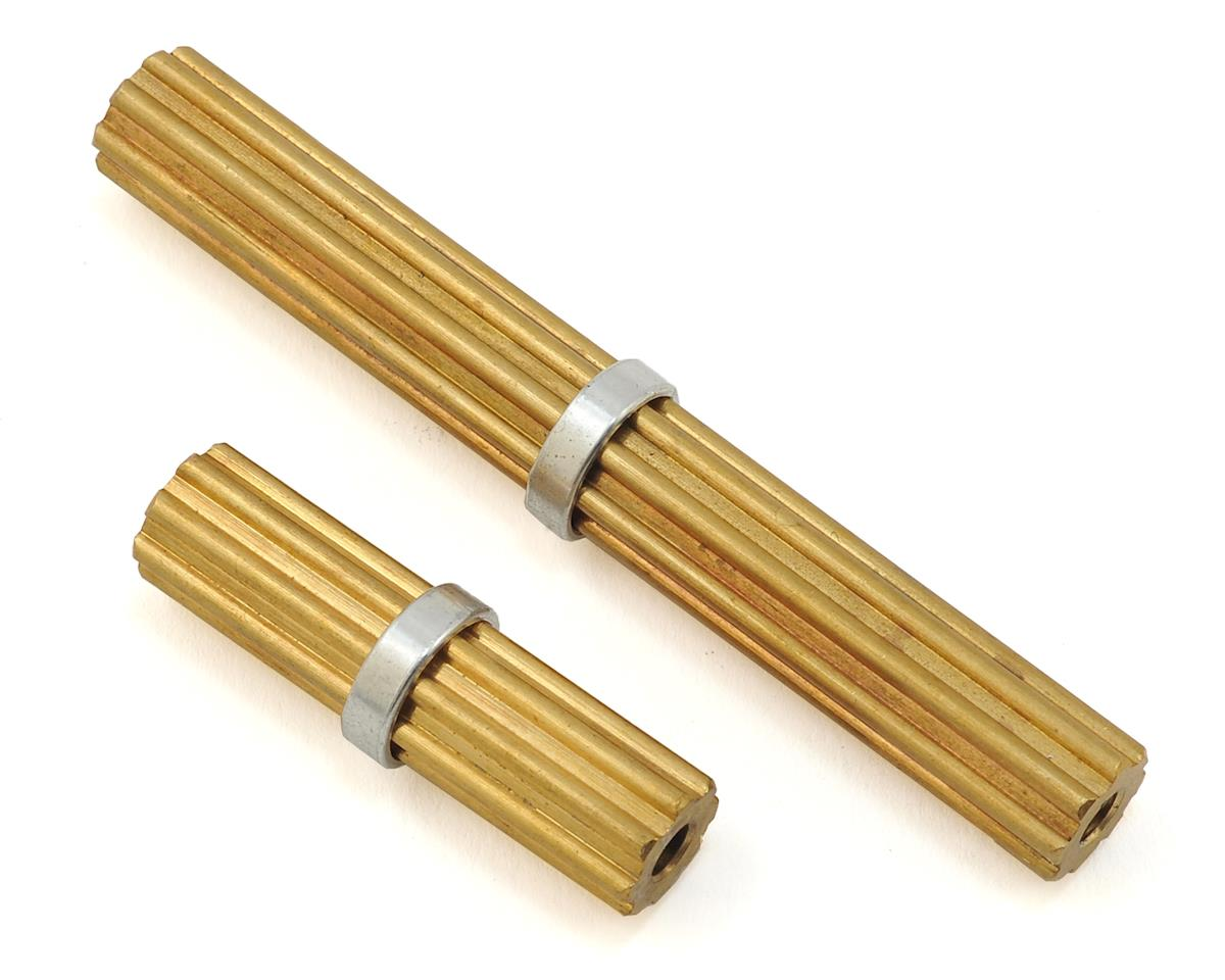 Samix SCX10 II Brass Inner Driveshafts (2) (SCX10 II Kit Only)