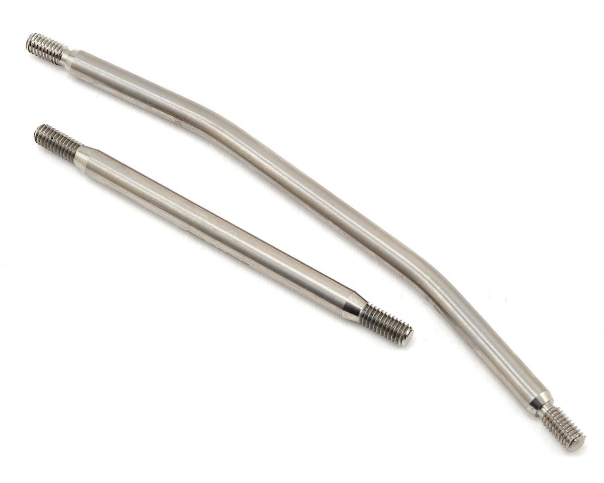 Samix SCX10 II Titianium Standard Steering Link Kit (2)
