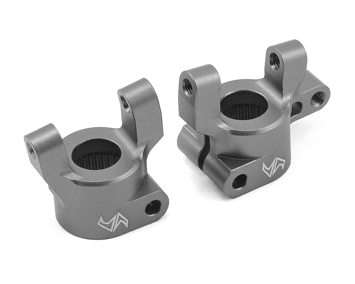 Samix SCX10 II Hub Carrier (2) (Grey)