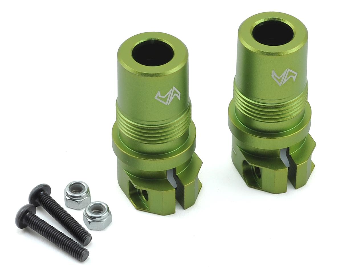 Samix SCX10 II Aluminum Rear Lockout (Green) (2)