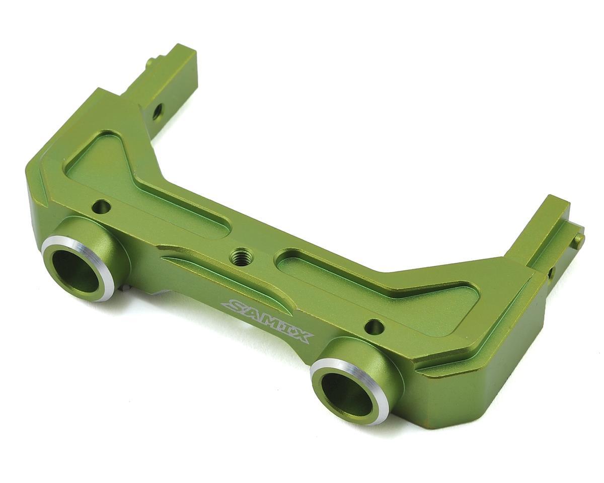 Samix Axial SCX10 II Rear Aluminum Bumper Mount (Green)