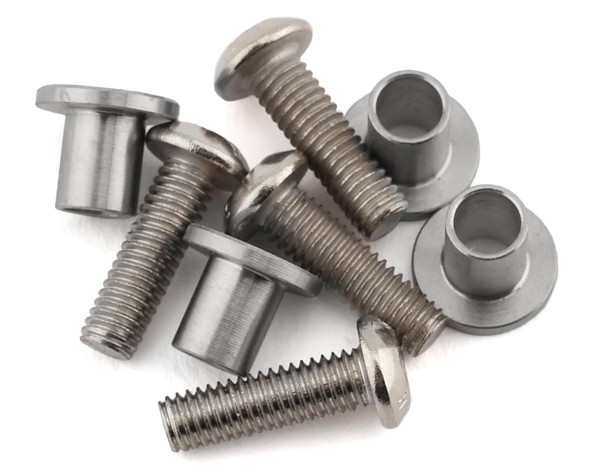 Samix Axial SCX10 II Stainless Steel Knuckle Bushing Set (4)