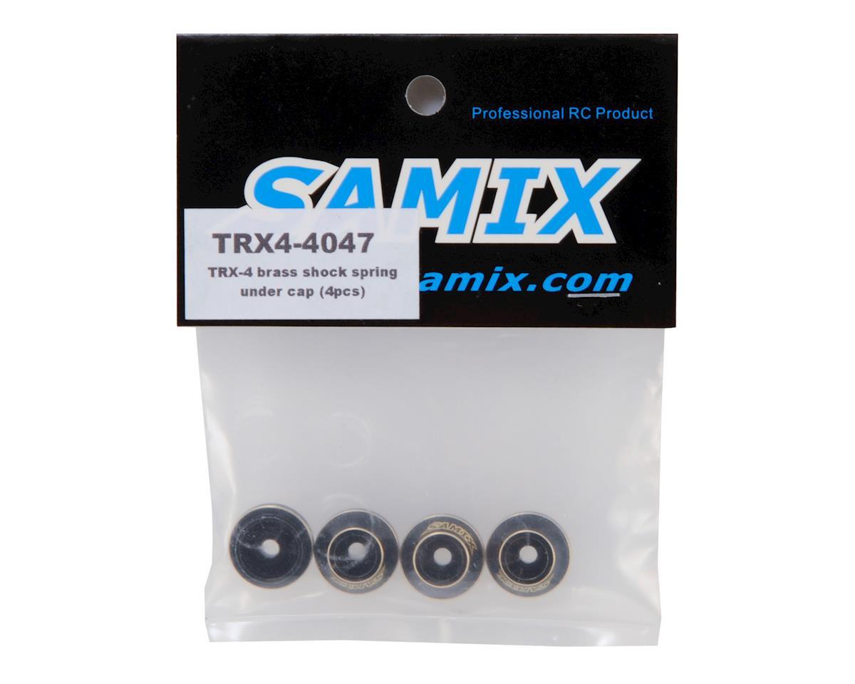Samix Traxxas TRX-4 Brass Shock Spring Cup