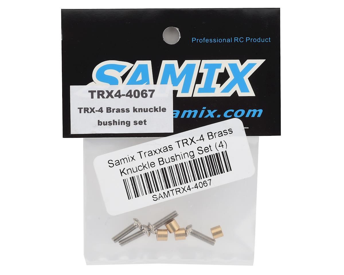 Samix Traxxas TRX-4 Brass Knuckle Bushing Set (4)