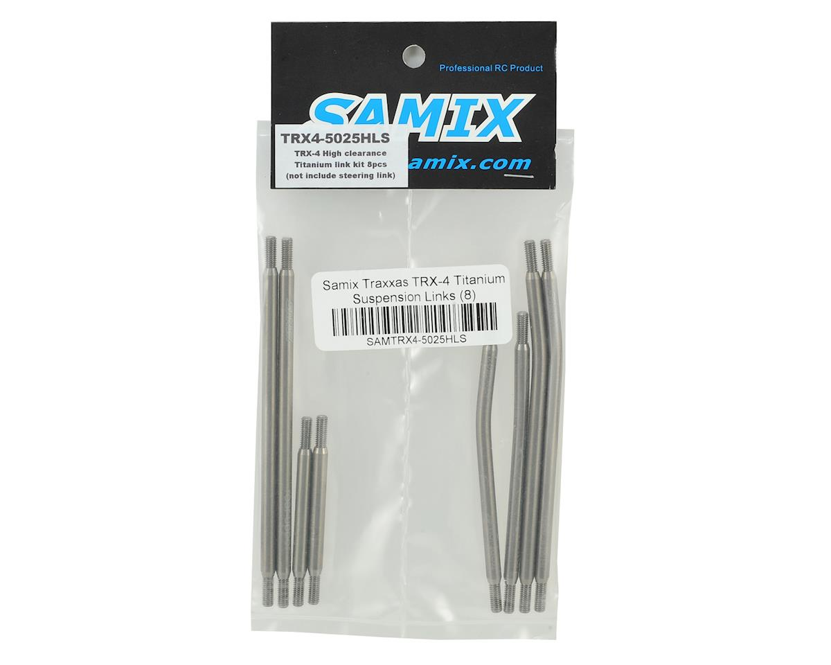 Samix Traxxas TRX-4 324mm Titanium Suspension Links (8)