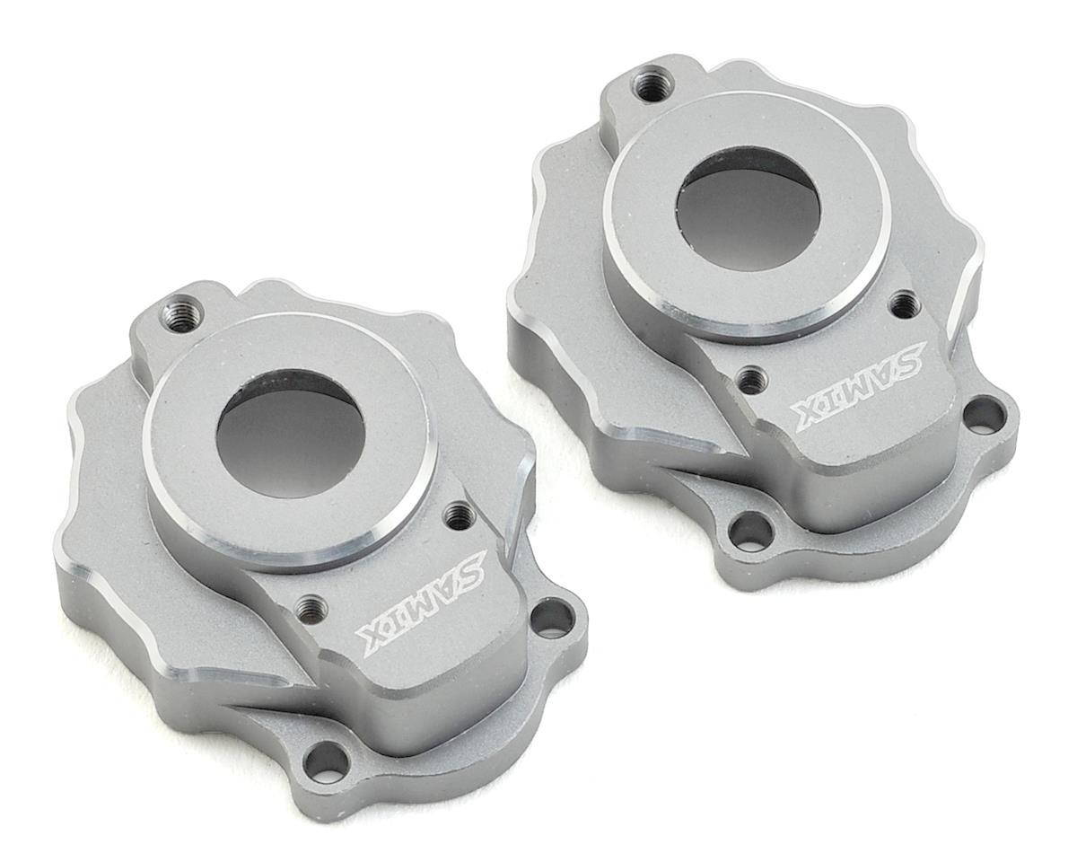 Samix Traxxas TRX-4 Aluminum Portal Cover (Silver)