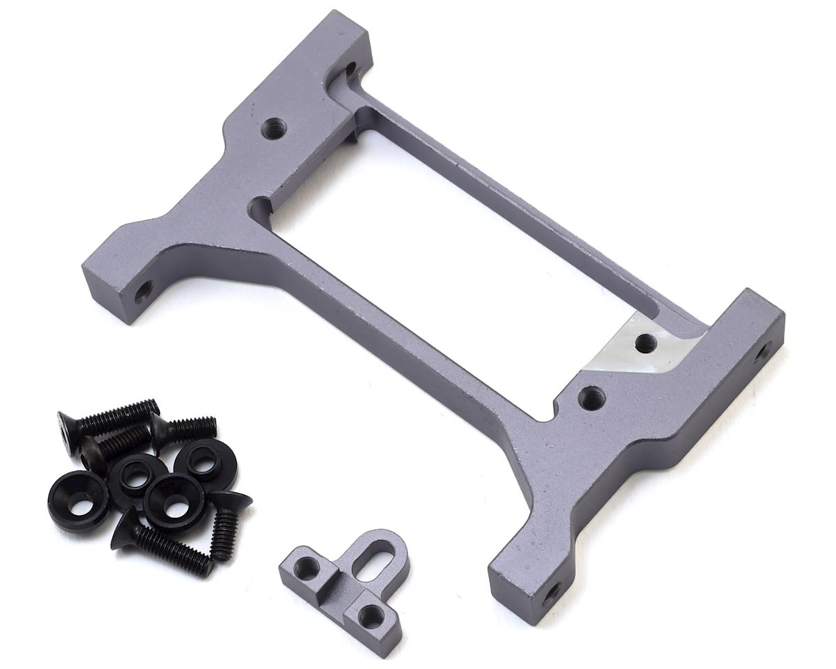 Samix Traxxas TRX-4 Aluminum Adjustable Front Cross Brace/Servo Mount (Grey)