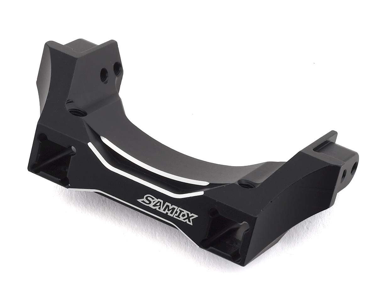 Samix Traxxas TRX-4 Aluminum Rear Bumper Mount Set (Black)