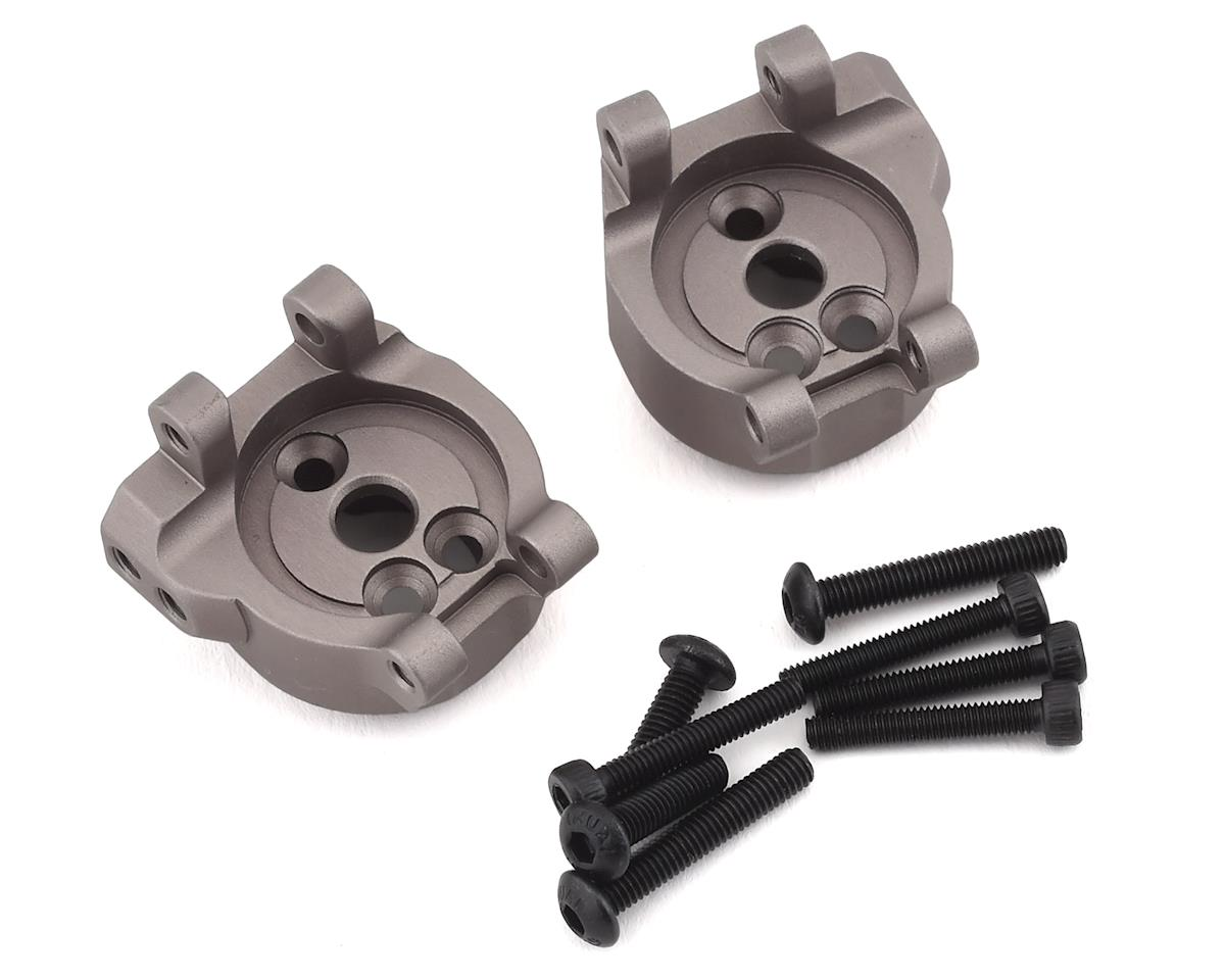 Samix Traxxas TRX-4 Aluminum Rear Hub Carriers (Grey)
