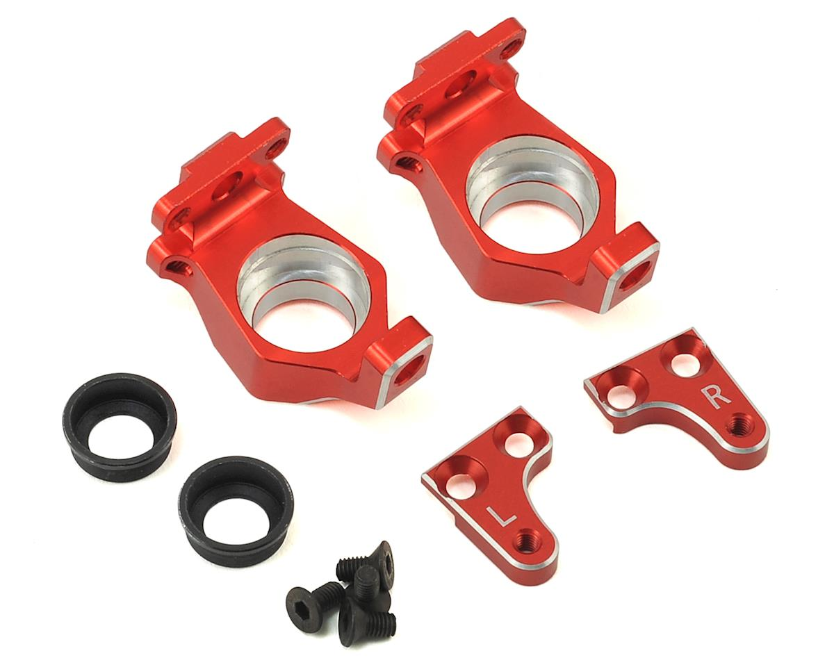 Samix Wraith High Clearance Steering Knuckle (Red)