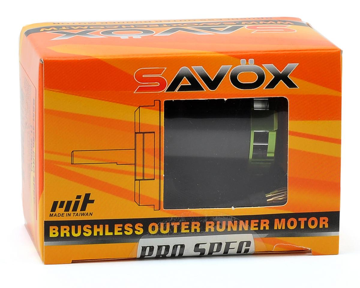 Savox 500 Class BSM3750 Pro Spec Brushless Outrunner Motor (1300kV)