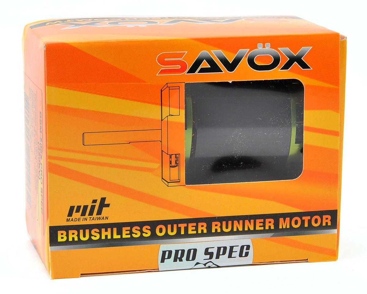 Savox 550 Class BSM4750 Pro Spec Brushless Outrunner Motor (1200kV)