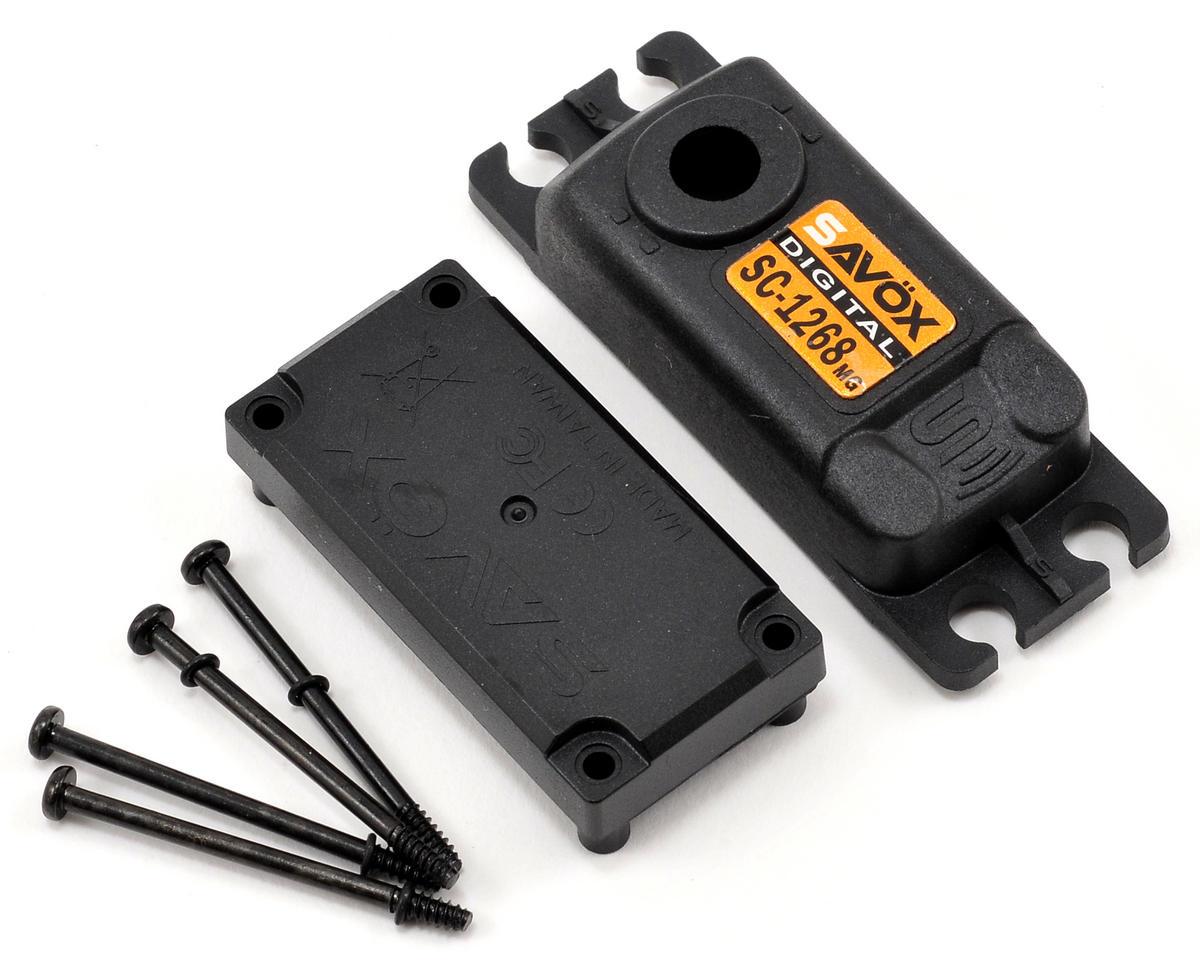 Savox 1268SG Upper/Lower Case Set W/Hardware [SAV CASE SC1268MG] |  Airplanes   Flite Test