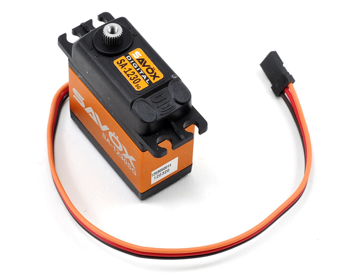 SC-1230SG Tall Digital Steel Gear Servo by Savox