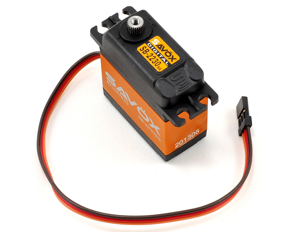 Savox SB-2230SG Monster Torque Tall Brushless Steel Gear Servo (High Voltage)