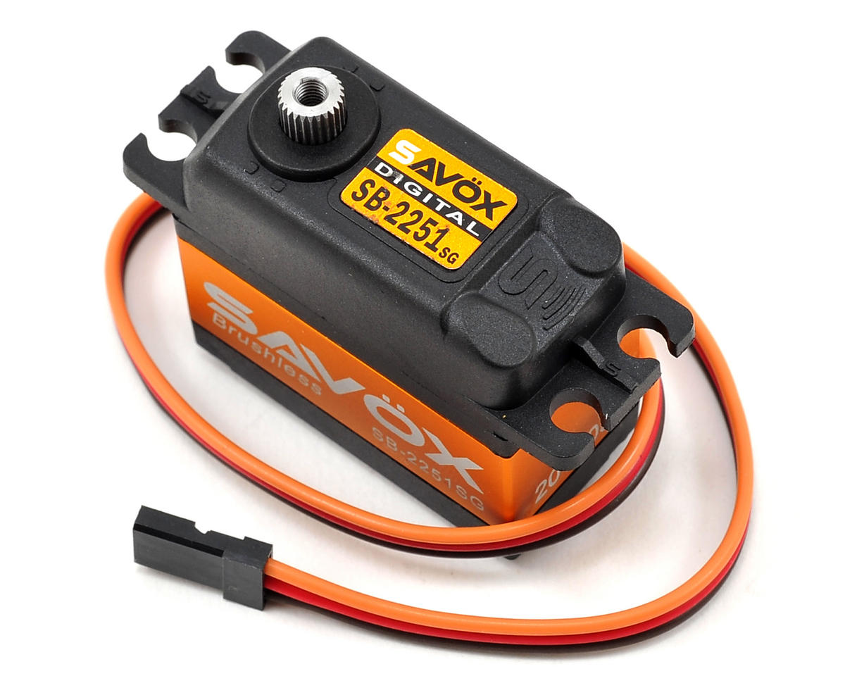 Savox SB-2251SG Standard Brushless Steel Gear Digital Servo