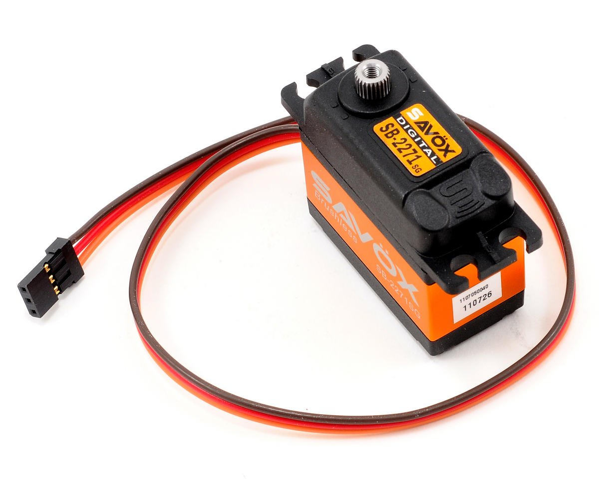 "SB-2271SG ""High Speed"" Brushless Steel Gear Digital Servo (High Voltage) by Savox"