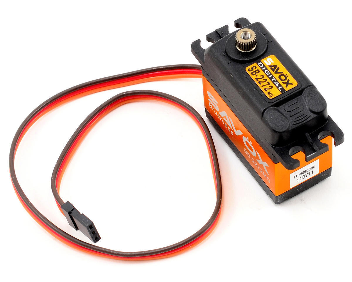 SB-2272MG Lightning Speed Brushless Metal Gear Servo (High Voltage) by Savox