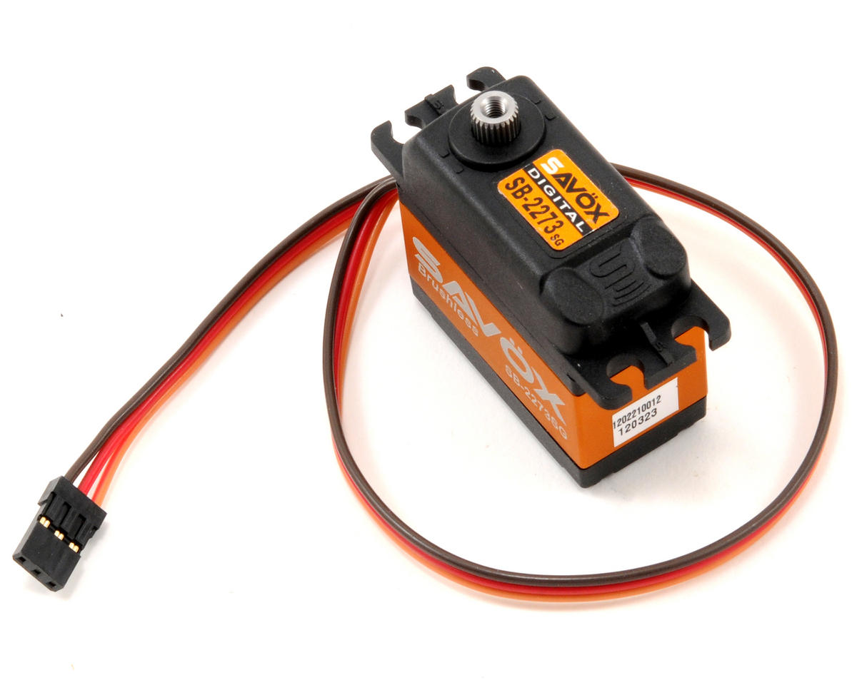 "SB-2273SG ""High Torque"" Brushless Steel Gear Digital Servo (High Voltage) by Savox"