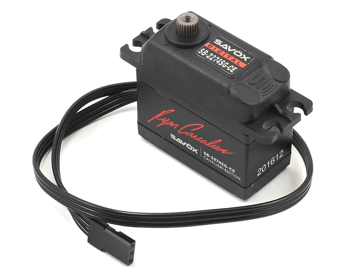 Savox SB-2274SG-CE Ryan Cavalieri High Speed Brushless Servo (High Voltage)